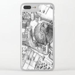 Windsor Castle grey Clear iPhone Case