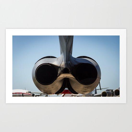 Exhaust Art Print