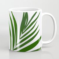 fern Mugs featuring Fern by Tamsin Lucie