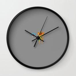 Enemies Wall Clock