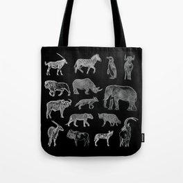 African Wildlife Tote Bag