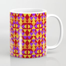 aztec pattern, tribal background Coffee Mug