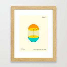 CAPSULE Framed Art Print