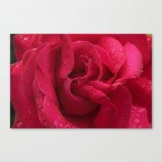 Red Diamonds Canvas Print