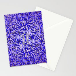 Radiate (Yellow/Ochre Royal) Stationery Cards
