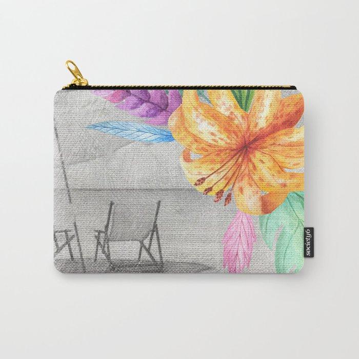 Tropical beach #3 Carry-All Pouch