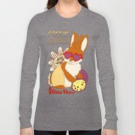 Jackalope and Passion Fruit Long Sleeve T-shirt