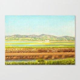 SPRING COLORS IN SALINAS Canvas Print