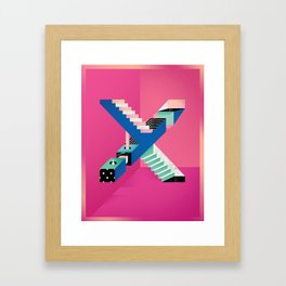 Impossible X Framed Art Print