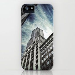 Chicago [Sky cut N°426] Illinois, Usa iPhone Case