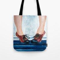 heels Tote Bags featuring Heels by MardyArts