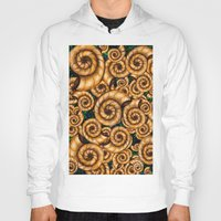 shells Hoodies featuring Shells by Marven RELOADED
