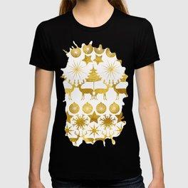 Gold Christmas 04 T-shirt