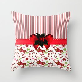 Chirstmas Stockings Throw Pillow