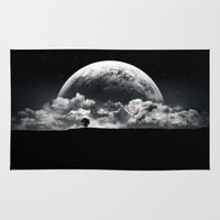 transformer Area & Throw Rugs featuring The Rise of a Planet II by Tobias Roetsch