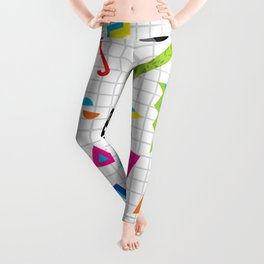 Breaking Atoms Leggings