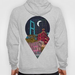 Night carries the lights Hoody