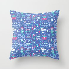 Things I  Like... Throw Pillow