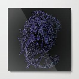 Merfolk Metal Print