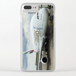 Emirates A380 Airbus Clear iPhone Case