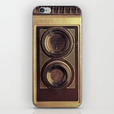 Vintage Twin Lens iPhone & iPod Skin
