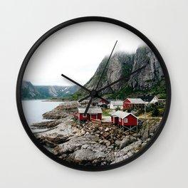 Reine lofoten Wall Clock