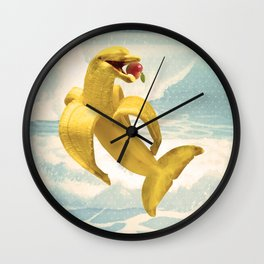 Fruit Fish Wall Clock