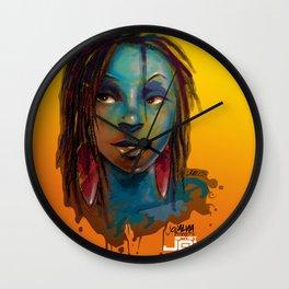 Afro Brazilian Wall Clock