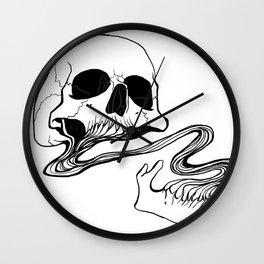 Skull (Grind) Wall Clock