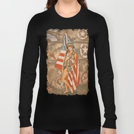 Pinups - Flag Day Long Sleeve T-shirt