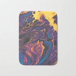 Psychedelic Acrylic 01 Bath Mat