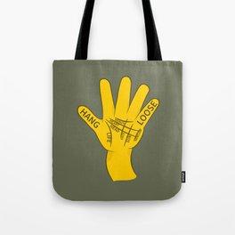 Palmistry Hang Loose Shaka Sign Tote Bag