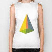pyramid Biker Tanks featuring Pyramid by MAGNA