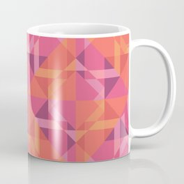 Coral Pattern Coffee Mug