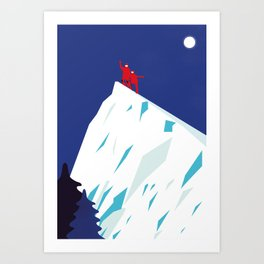 MOUNTAIN HIGH Art Print