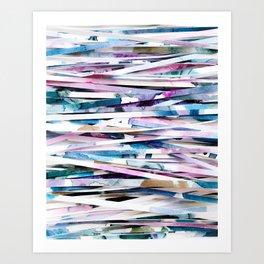 Dreamcatcher Abstract Painted Paper Photograph Art Print