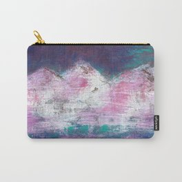 Pink Mountains Carry-All Pouch