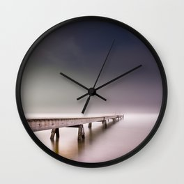 Nebel II (in color) Wall Clock