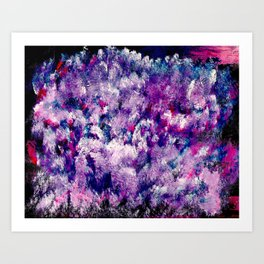 Abstract, Colourful Painting Art Print
