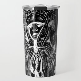 Black. Fly. Maria. Travel Mug