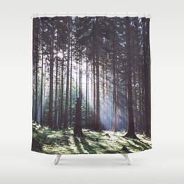 Magic forest - Landscape and Nature Photography Shower Curtain