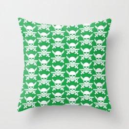 Zoro Jolly Roger 1 Throw Pillow