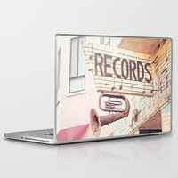 records Laptop & iPad Skins featuring Records by JoyHey