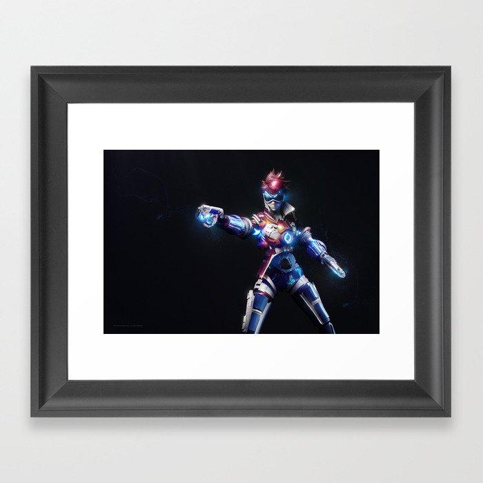 Tracer v2 Framed Art Print