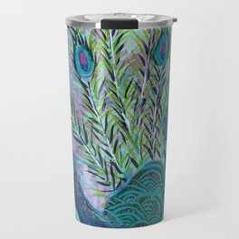 Tail of the Peacock Travel Mug