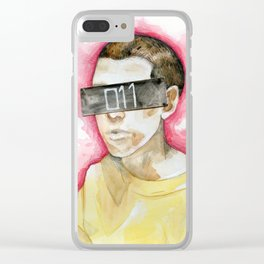 Watercolor drawing Clear iPhone Case