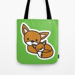 Sweet Fox Tote Bag
