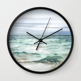 Oceanscape of Anna Maria Island Florida. Wall Clock