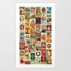 Wallpaper 3 Art Print