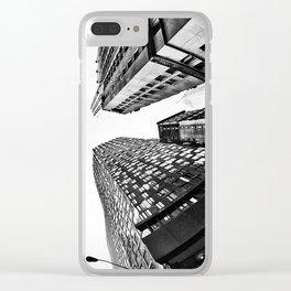 Subtle City Clear iPhone Case